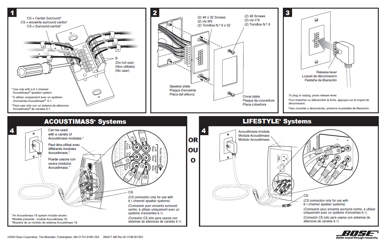 acoustimass bose wiring diagram