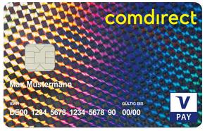 Visa Karte Comdirect.Ec Karte Comdirect
