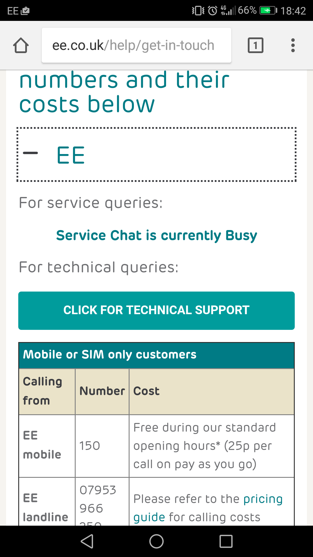 Mobile live chat