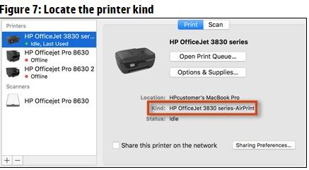 install printer driver hp officejet 3830