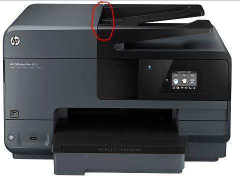 Re: Error message: scanner lid or document feeder open