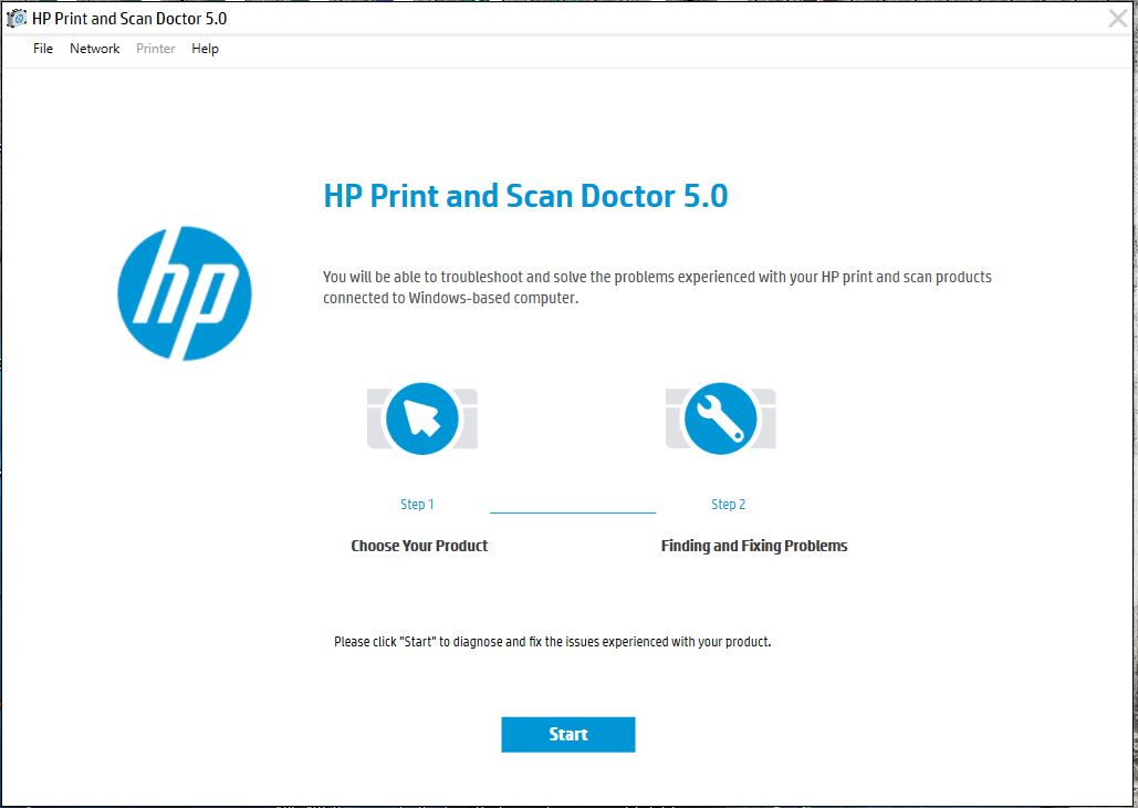 HP Print and Scan Dr fails if updated to version 5 x - HP