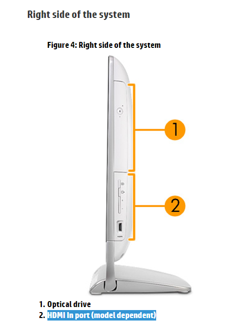 Solved: How to enable HDMI Input? - HP Support Community