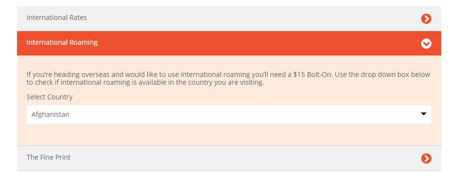 Solved: Overseas roaming - Boost Mobile Community