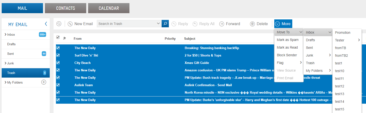 Bigpond webmail Konto